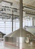 Brewing production. Modern Brewing production - mash vats Stock Photos