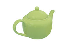 Brewing teapot Stock Image