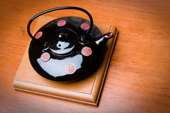 Brewing teapot in the Japanese style Stock Images