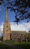 Brewood kyrka Royaltyfri Bild