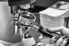Brews coffee Stock Photo