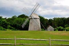 Brewster, МАМЫ: Ветрянка фермы Higgins XVIII века Стоковые Изображения