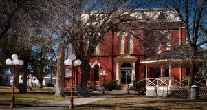 The Brewster County Courthouse in Alpine