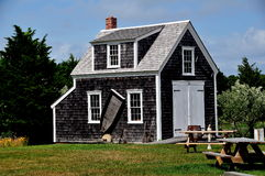 Brewster, MA: Blacksmith Shop at Higgins Farm Royalty Free Stock Photos