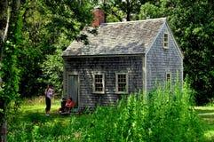 Brewster, MA: 1795 Harris-Black House Stock Photos