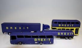 Brexit高压封锁 库存照片