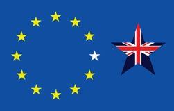 Brexit出口 向量例证