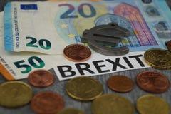 Brexit欧盟的末端 免版税库存照片