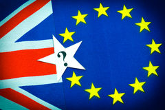 Brexit英国欧盟公民投票 库存图片