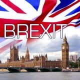 BREXIT - Выход Britains от соединения Europen Стоковое фото RF
