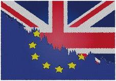 Brexit 离开欧盟的英国 皇族释放例证