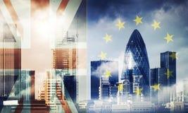 Brexit illustration stock
