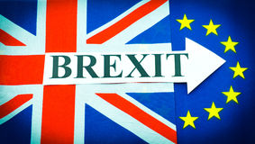 Brexit Imagens de Stock