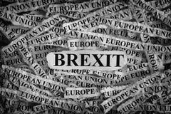 Brexit royalty-vrije stock foto's