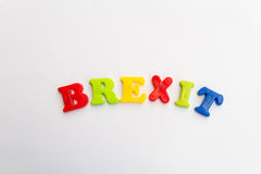 Brexit Royaltyfri Fotografi