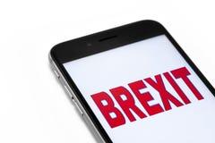 Brexit Στοκ φωτογραφία με δικαίωμα ελεύθερης χρήσης