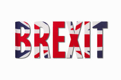 Brexit Imagens de Stock Royalty Free