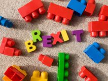 Brexit stock foto's