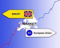 Brexit иллюстрация вектора
