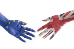 Brexit avtalsbegrepp Royaltyfri Bild