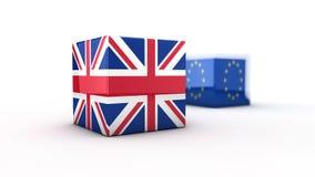Brexit begrepp Royaltyfri Fotografi