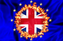 Brexit BRITÁNICO en Europa libre illustration