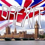 BREXIT - Britannien ut ur Europen union Royaltyfria Foton
