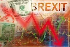 Brexit bubel na fact Zdjęcia Stock