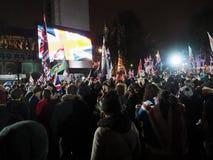 Brexit Celebrations Parliament Square