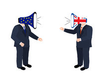 Brexit concept people Stock Images