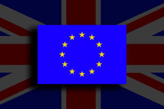 Brexit - Conceptual image. Royalty Free Stock Photography