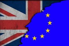 Brexit - Conceptual image. Stock Photo