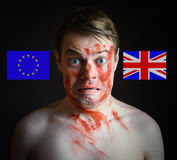 Brexit - Conceptual image. Royalty Free Stock Images