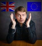 Brexit - Conceptual image. Stock Photos