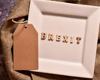 Brexit de Word photographie stock libre de droits