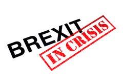 Brexit in der Krise stockfotografie