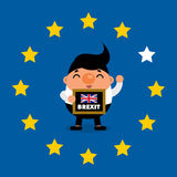 Brexit. This is Brexit design. Vector file royalty free illustration