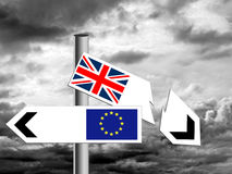 BREXIT in difficulty following court ruling. Royalty Free Stock Photo