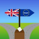 Brexit e Bregret illustrazione di stock