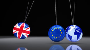 Brexit Effect Concept Royalty Free Stock Photos