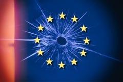 Brexit en E. - Europese Unie stock foto