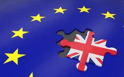 Brexit and EU Royalty Free Stock Image