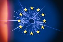Brexit and the EU European Union. Concept stock photo