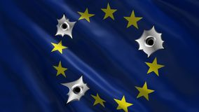 Brexit and the EU European Union. Problem concept royalty free stock images