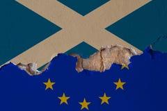 Brexit EU-negotiatons Stockfoto