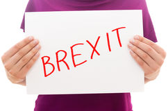 Brexit Royalty Free Stock Photography