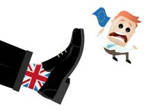Brexit Great Britain EU exit Royalty Free Stock Photos