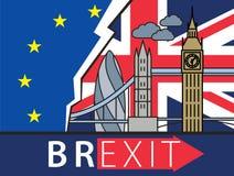 Brexit Great Britain leaving EU Stock Images