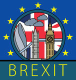Brexit Great Britain leaving EU Royalty Free Stock Photo