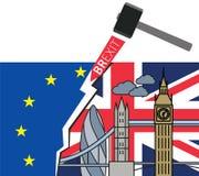 Brexit Great Britain leaving EU Stock Image